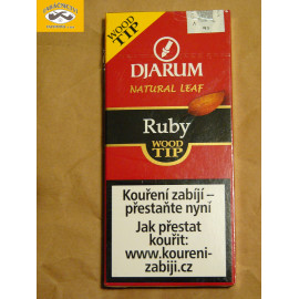 DJARUM WOOD TIP RUBY