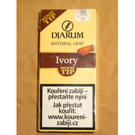 DJARUM WOOD TIP IVORY