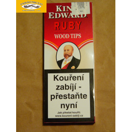 KING EDWARD RUBY WOOD TIPS