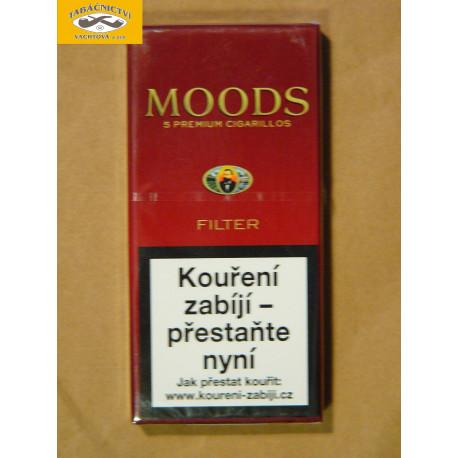 MOODS CIGARILLOS FILTER