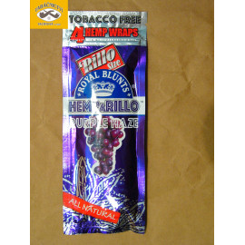 ROYAL BLUNTS HEMPaRILLO PURPLE HAZE
