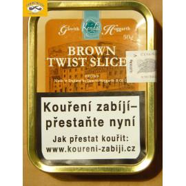 KENDAL BROWN TWIST SLICE