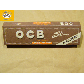 OCB SLIM VIRGIN PAPER + FILTER