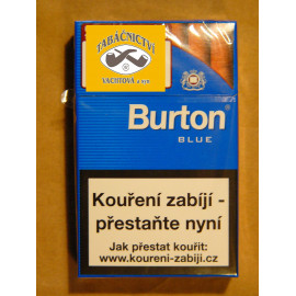 BURTON BLUE CIGARILLOS