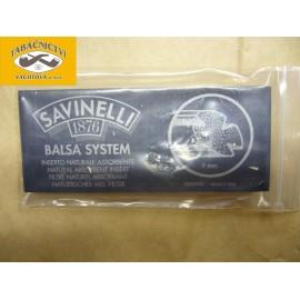 filtry Savinelli balsa 9mm, 10ks,