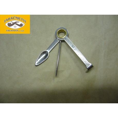 Ťapátko kovové třídílné malé