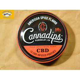 CANNADIPS AMERICAN SPICE FLAVOR