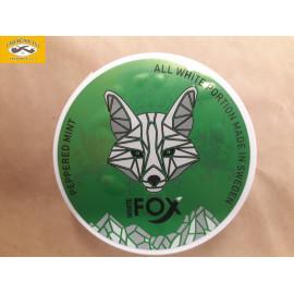 FOX WHITE PEPPERED MINT