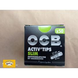 FILTRY OCB ACTIV TIPS SLIM