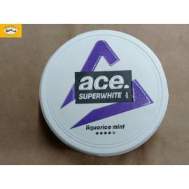 ACE SUPERWHITE LIQUORICE