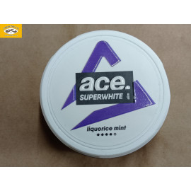 ACE SUPERWHITE LIQUORICE