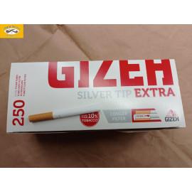 GIZEH SILVER TIPS EXTRA 250KS