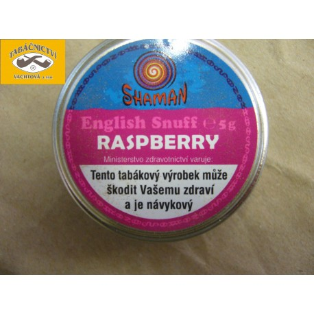 English Snuff Raspberry (Malina) 5g