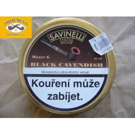 Savinelli Black Cavendish 50g (Mistr G)